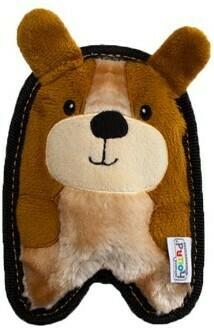 ОН игрушка для собак Invinc Mini Щенок 17 см без наполнителя
