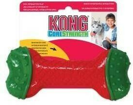 KONG Holiday игрушка для собак CoreStrength Косточка 14 см