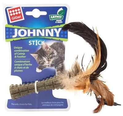 GiGwi Мята кошачья прессованная с пером