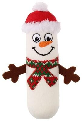 GiGwi Снеговик с пищалкой,21см НОВЫЙ ГОД