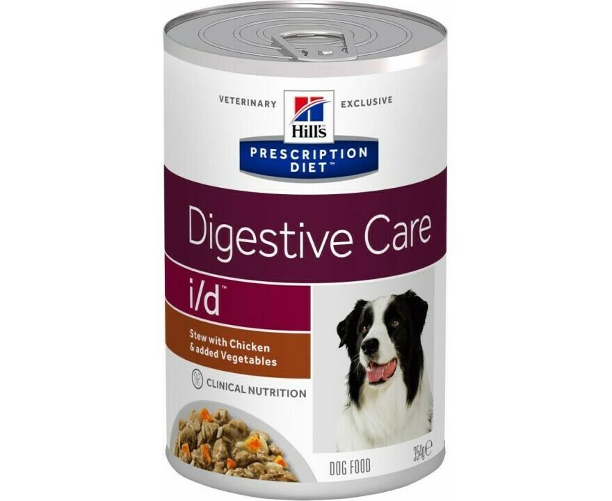 ХИЛС  i/d РАГУ для собак для пищеварительного тракта  354гр