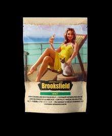 Бруксфилд Brooksfield Adult Курица/Брокколи в желе пауч д/кош 85г