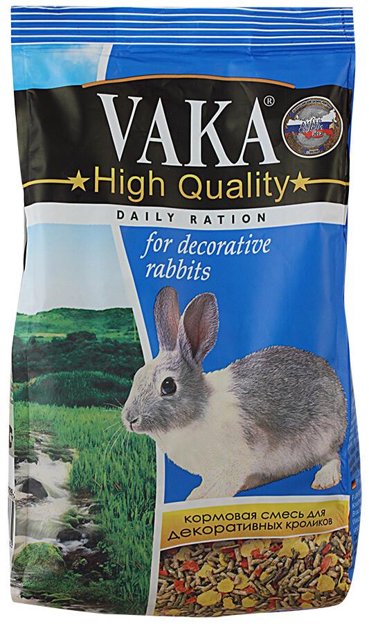 Вака ВАКА High Quality 500 г д/декор. кроликов(пакет)