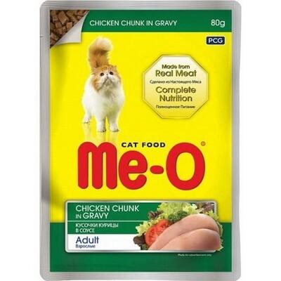 Me-O влаж.д/кошек 80г курица в соусе