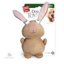 Игрушка GiGwi Кролик с пищалкой/ткань