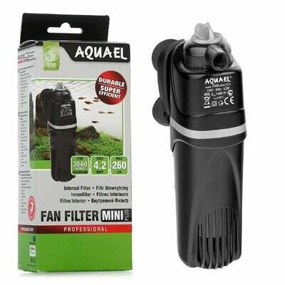 Помпа-фильтр FAN mini plus 260л/ч,2,2W,на 30-60л. регул.мощ