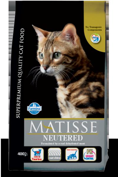 Фармина Матис Neutered д/кастрированных котов 0,4кг