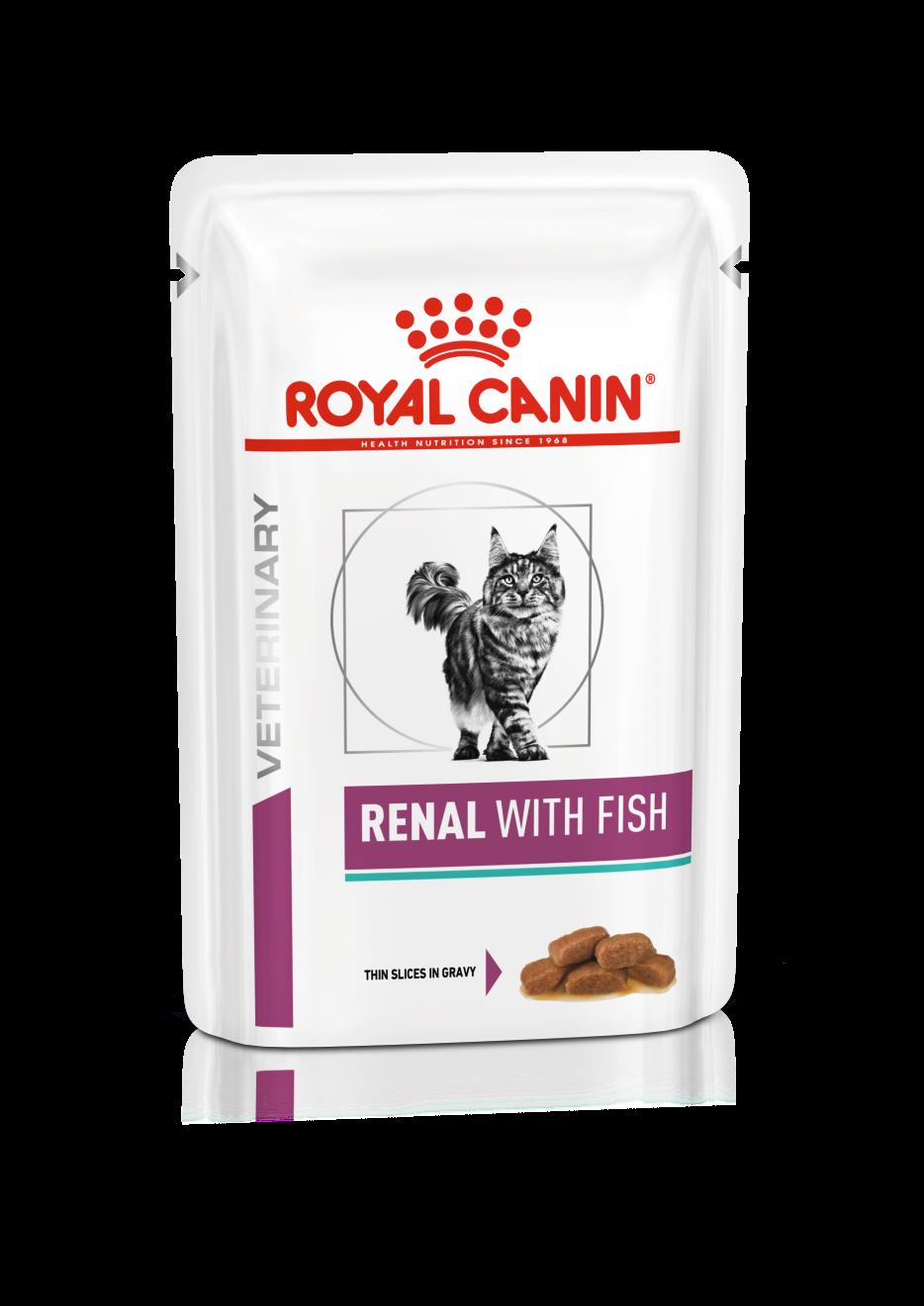 Роял канин ренал  вкус рыба 85 гр