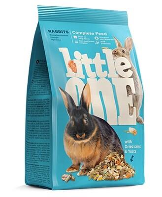 Литл оне LITTLE ONE 400г д/кроликов