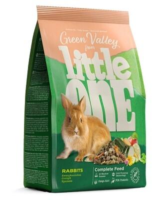 Литл оне LITTLE ONE Зеленая долина Корм д/кроликов из разнотравья 750