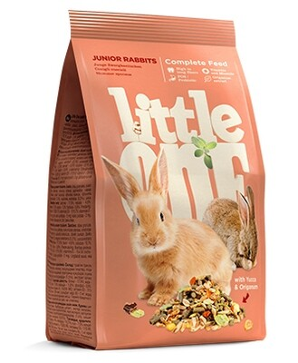 Литл оне LITTLE ONE 400г д/молодых кроликов