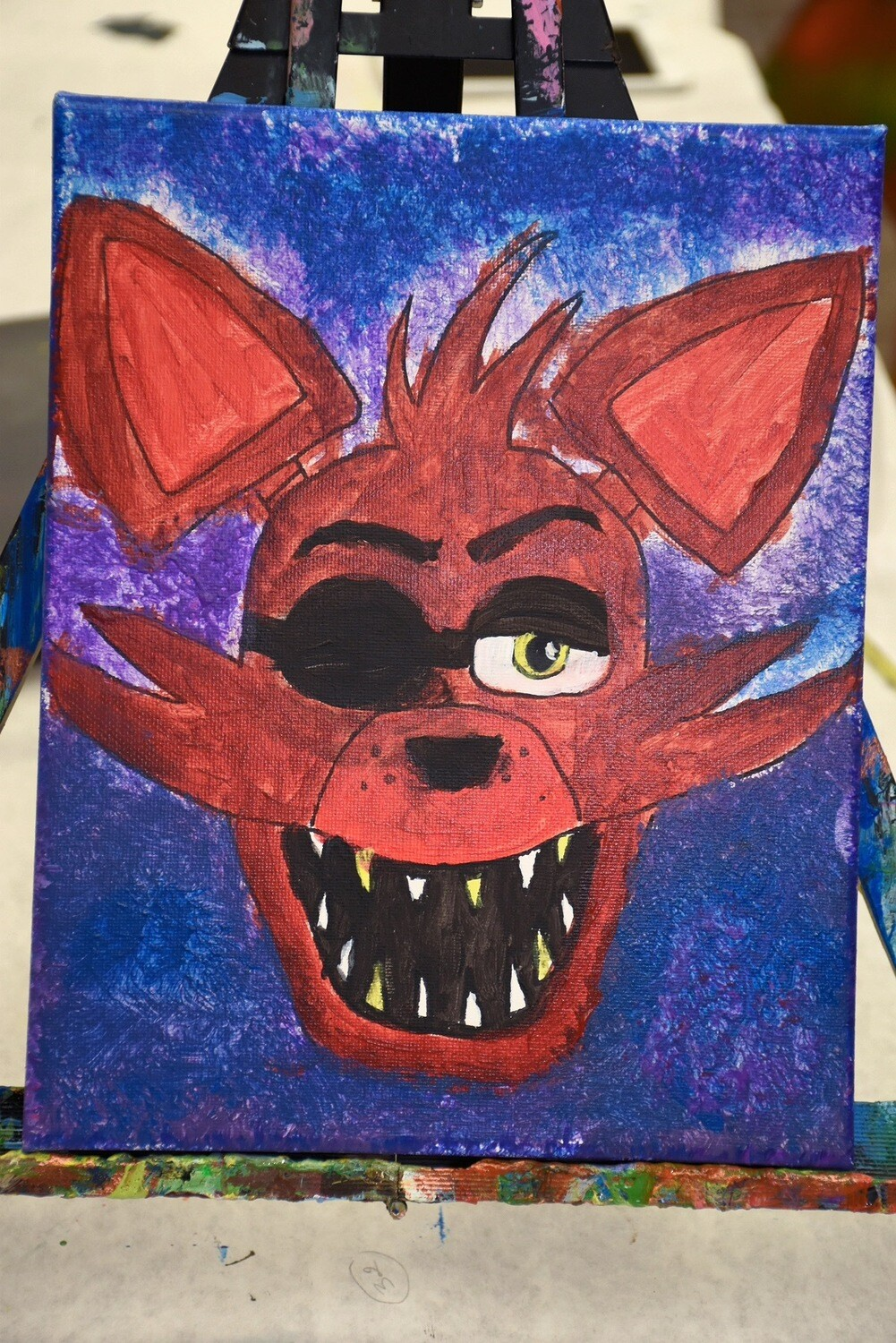 FOXY - Five Nights at Freddy's PAINT KIT