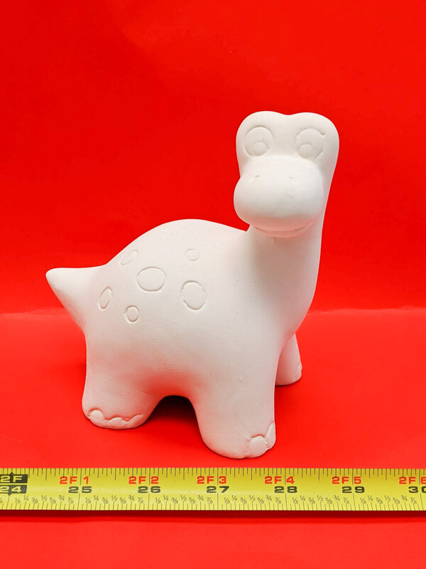 Dinosaur figurine piggy bank to paint for kids Art Craft