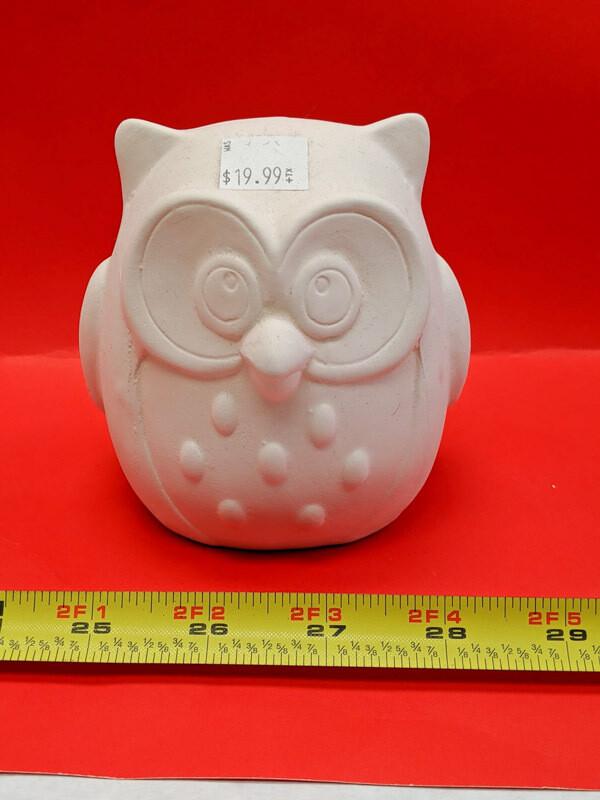 DIY Owl figurine sculpture to paint for kids Art Craft