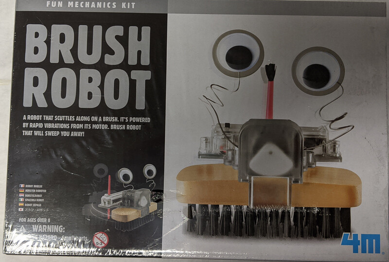 4M Brush Robot Fun Mechanics Kit