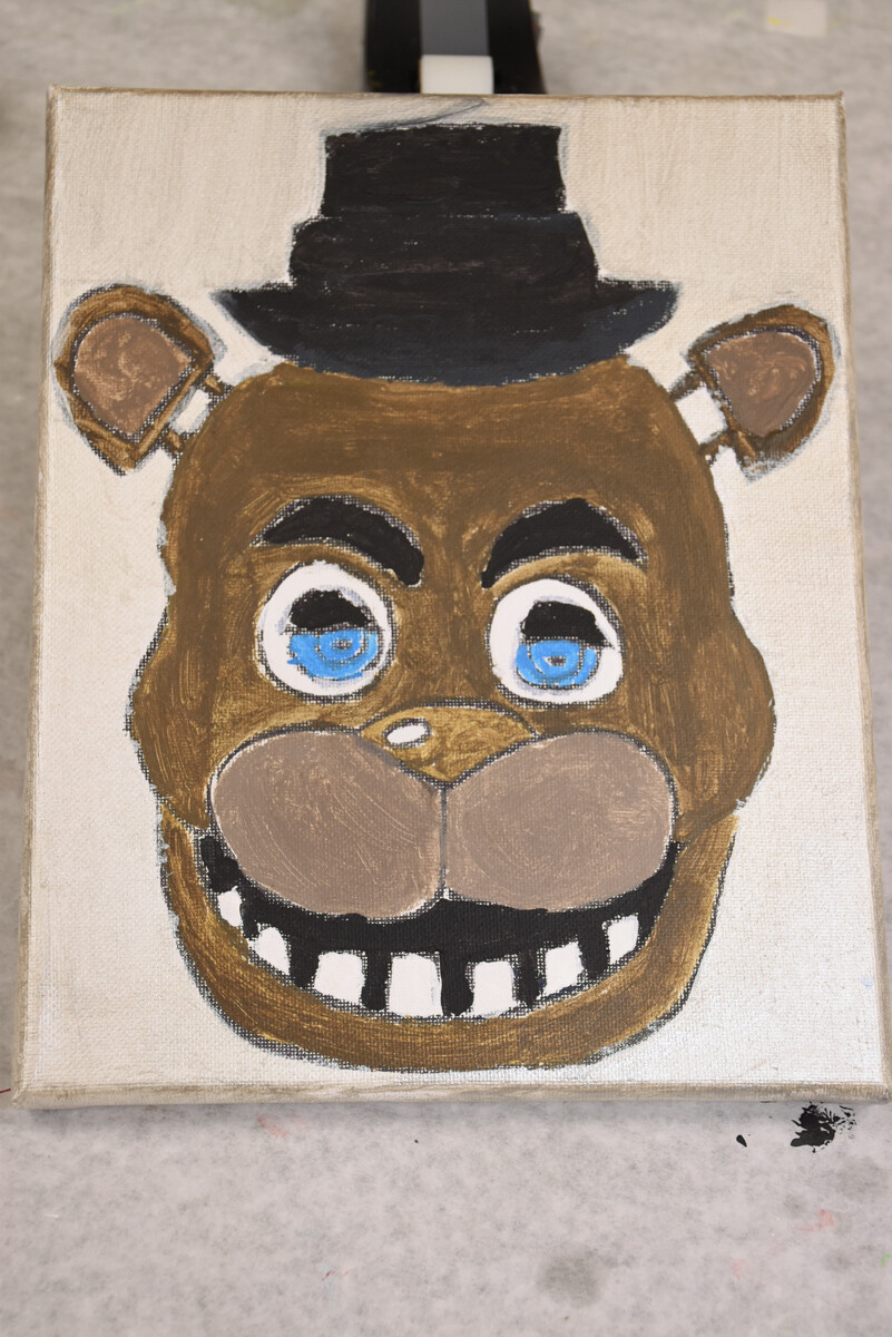 Freddy - Five Nights at Freddy's PAINT KIT