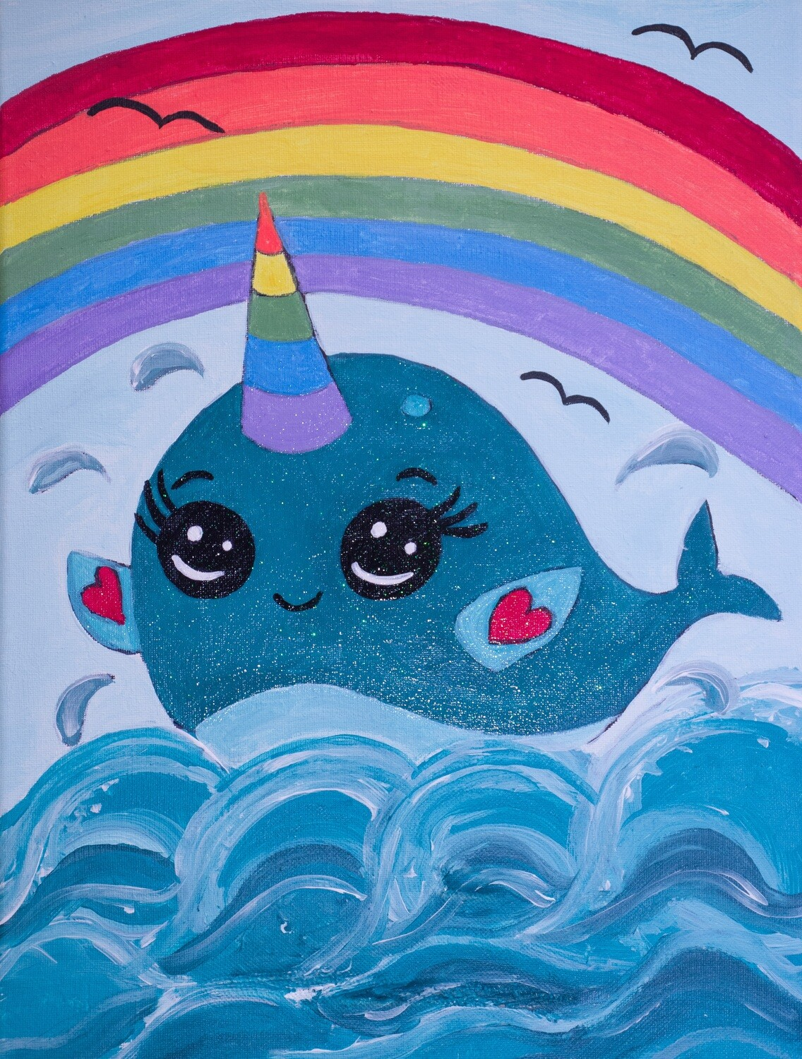 NARWHAL: Unicorn of the Sea PAINT KIT