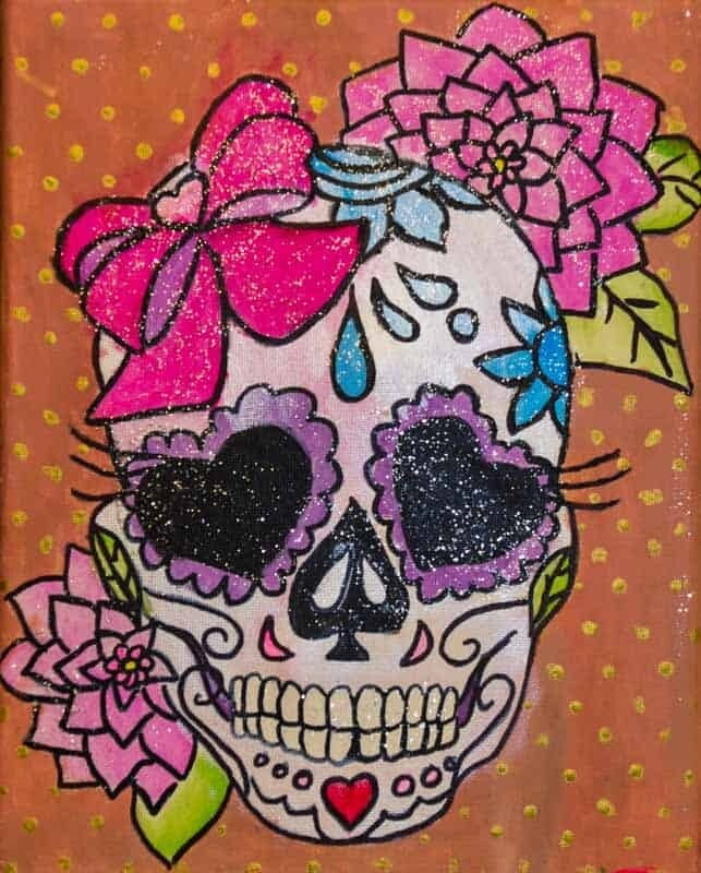 DAY OF THE DEATH PAINT & SIP KIT