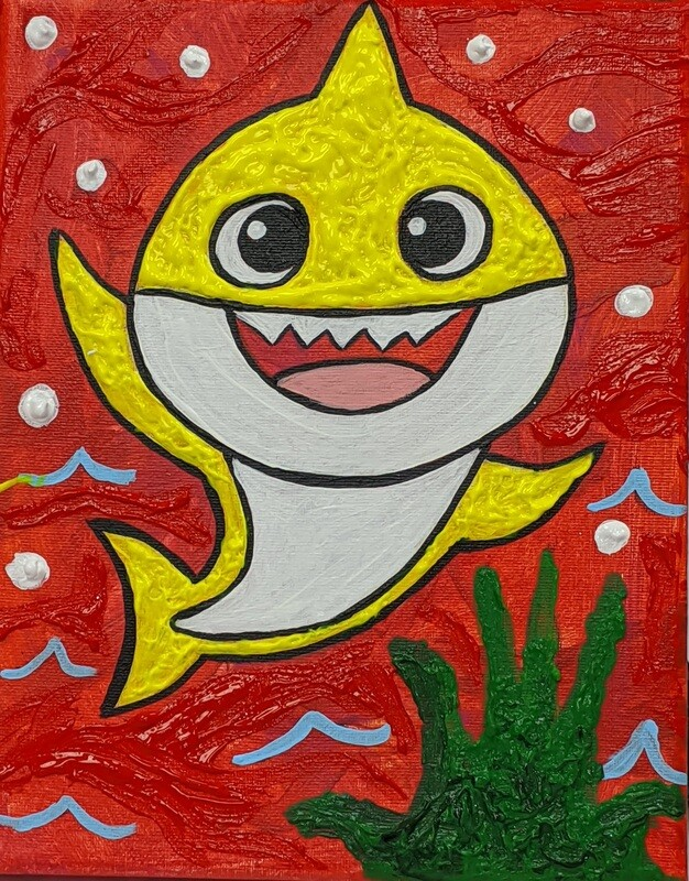 BABY SHARK PAINT KIT