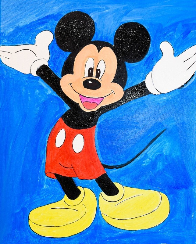MICKEY MOUSE - BIRTHDAY PAINT KIT
