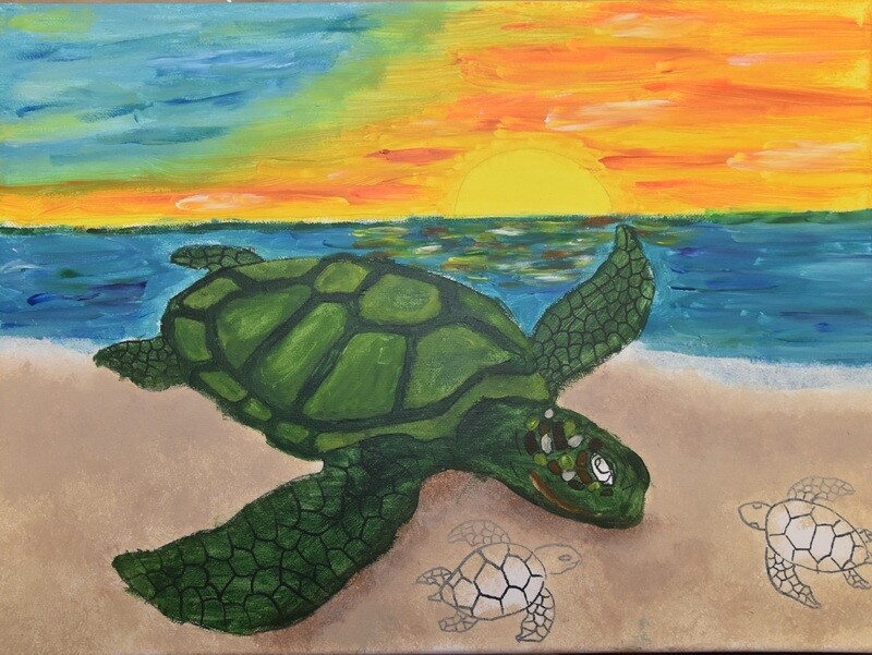 SEA TURTLE PAINT KIT