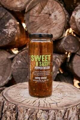 Sweet N Sassy Pepper Relish