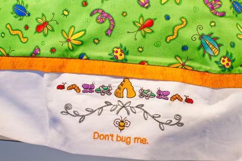 Pillow Case - Don't Bug Me!