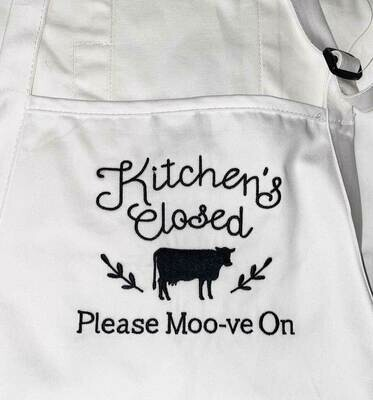 Kitchen's Closed! Please Moo-ve On!
