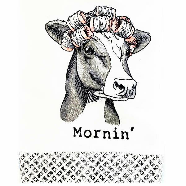 Mornin' Dish Towel