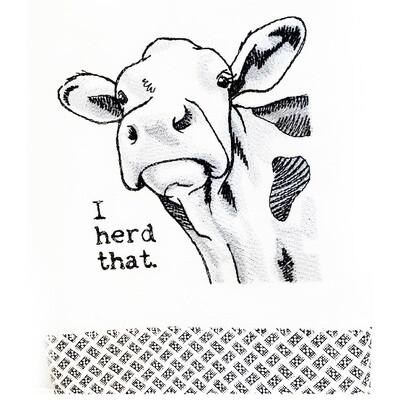 I Herd That Dish Towel