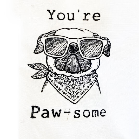 You're Paw-some Dish Towel