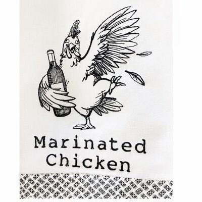 Marinated Chicken Dish Towel