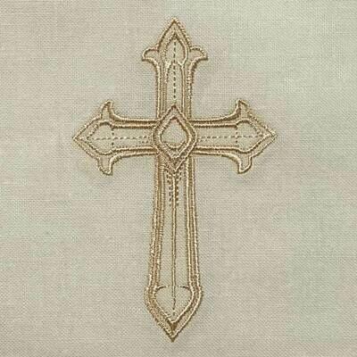 Christian Cross Guest Towel