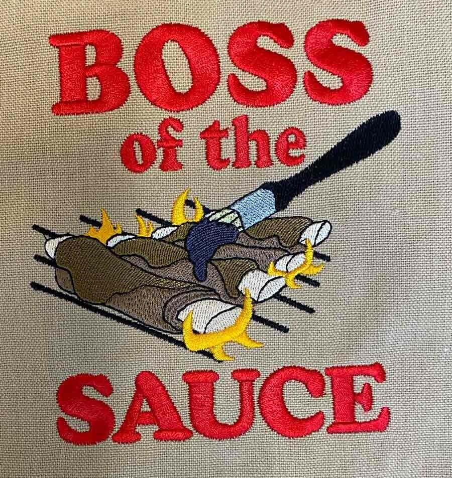 Boss of the Sauce!