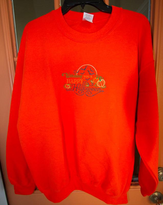 Halloween Sweatshirt with