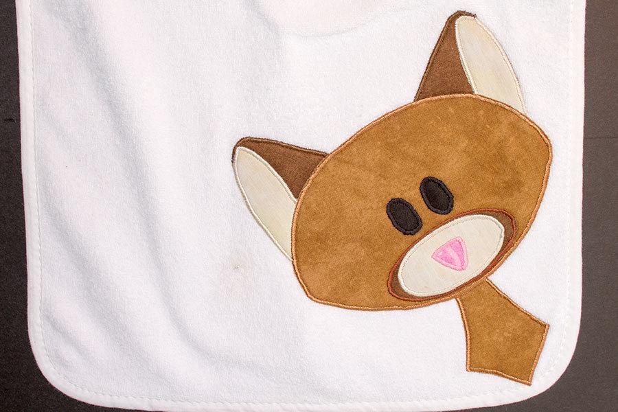 Cute Critter Burp Cloth