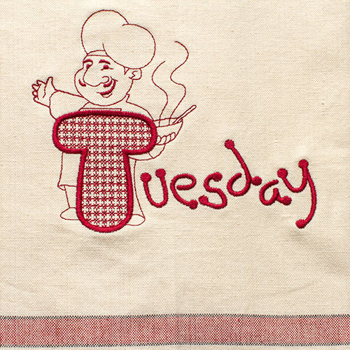 Tuesday (Dish Towel)