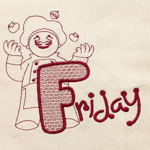 Friday (Dish Towel)