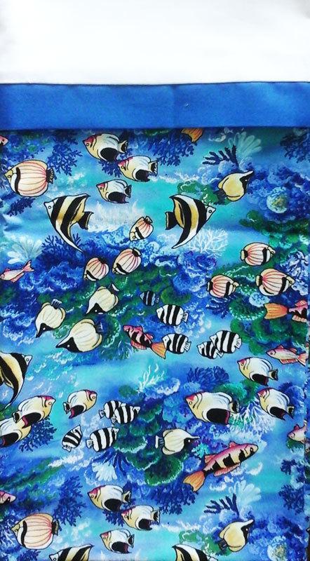 Tropical Fish Pillow Case II