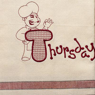 Thursday (Dish Towel)