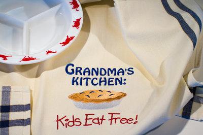 Grandma's Kitchen Dishtowel