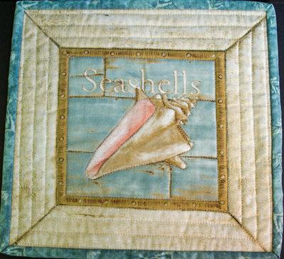 Starfish Mug Rug