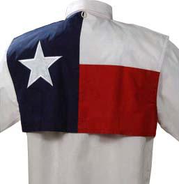 Texas Flag Fishing Shirt