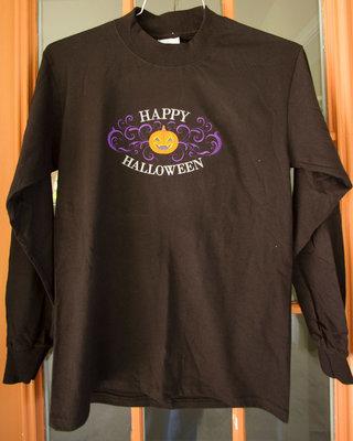 Halloween Long Sleeve Tshirt with