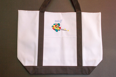 Kids Bag With Airplane