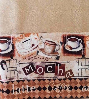 Mocha - Latte - Coffee - Au Lait On Dish Towel