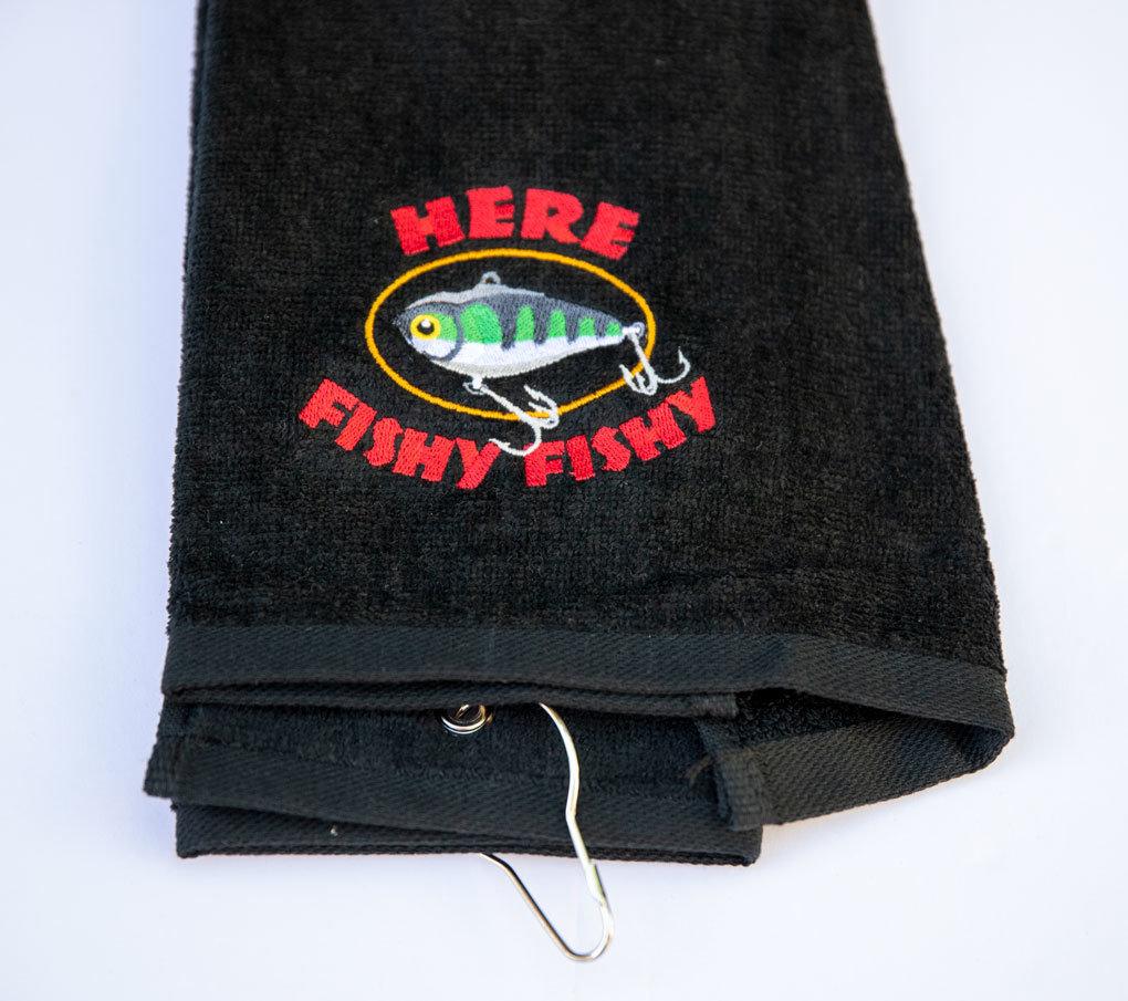 Here Fishy Fishy Sport Towel