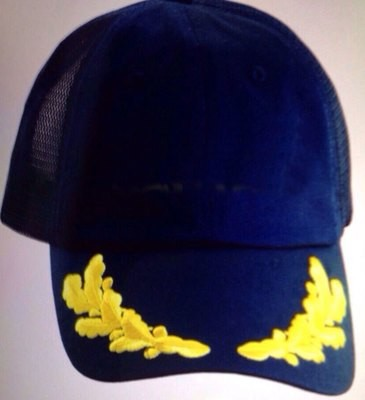 Commander Hat With Oakleaf Emblem