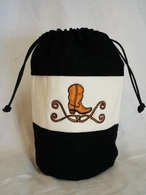 Cowboy Boot CatchAll Bag