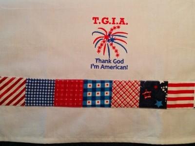 Patriotic Dish Towel